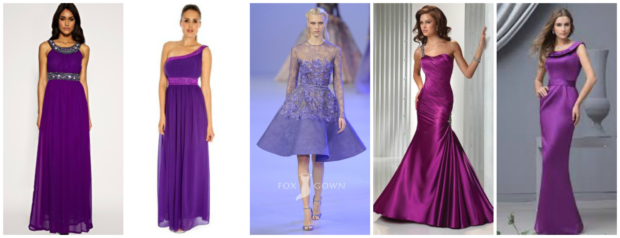 Inspiration: How to make PURPLE work in your wedding! | Knots and ...
