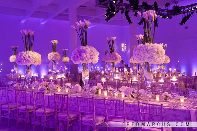 Purple Ideas For Weddings: Inspiration: How To Make PURPLE Work In Your Wedding