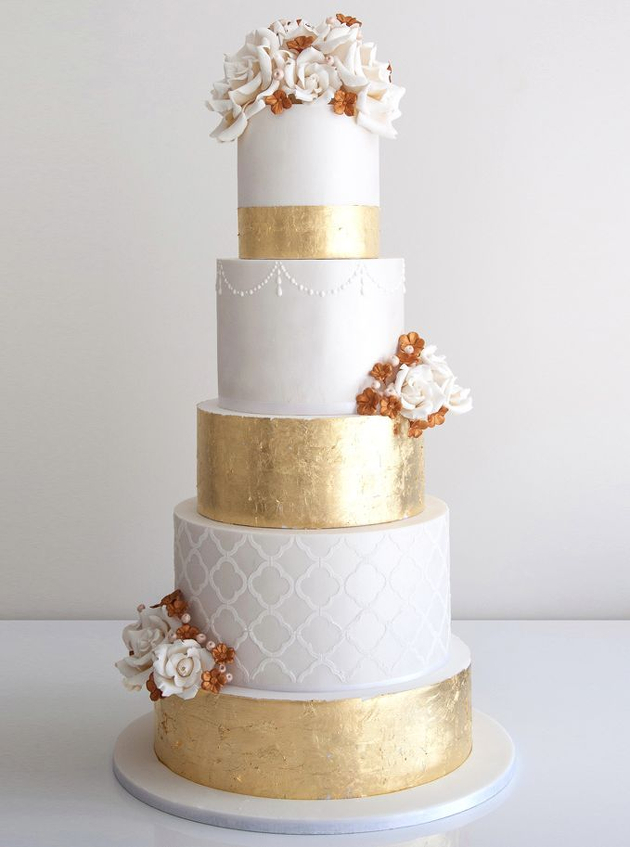 How To Make Gold Accents For Cakes