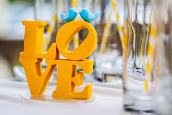 Wedding Color Yellow Reception Decor Bartlett Pair Photography